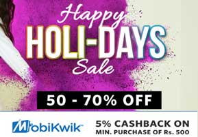 Myntra Holi-Days Sale