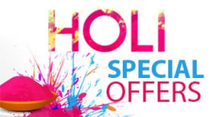 Special Holi Offers 2017