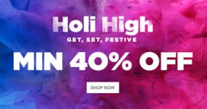 Jabong Holi High Sale