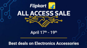 The Flipkart All Access Sale Offers