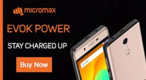 Micromax Evok Power Online Lowest Price