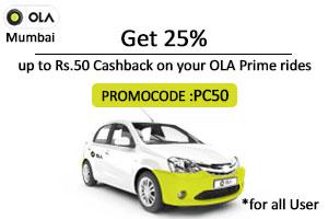 ola cabs promo