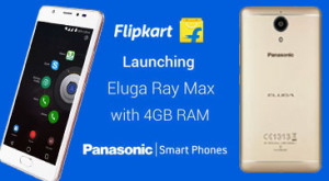 Panasonic Eluga Ray Max Lowest Price