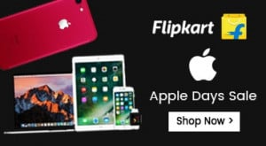 Flipkart Apple Days Sale offers
