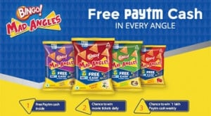 Paytm Bingo Mad Angles Offer for Wallet Cash