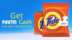 Paytm Tide Plus Offer