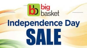 BigBasket BIG Independence Sale