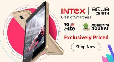 Intex Aqua Zenith Price in India