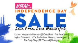NykaaIndependence Day Sale