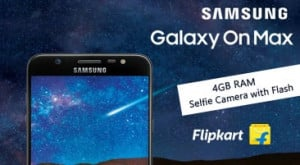 Samsung Galaxy On Max on Flipkart