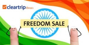 ClearTrip Freedom Sale