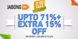 Jabong Be You Be Free Deals