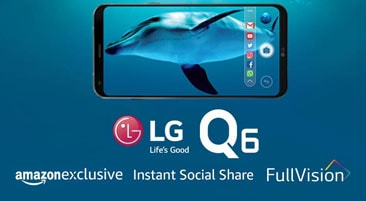 LG Q6 Mobile Price on Amazon