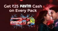 Paytm CloseUp Offer Cash Code