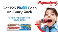 Paytm Pepsodent Offer Cash Code