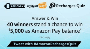 all amazon quiz answers