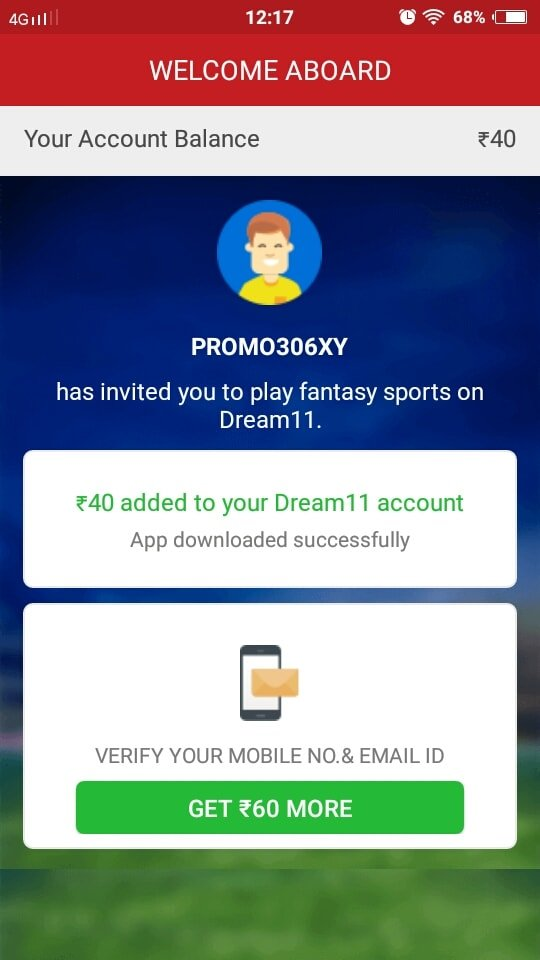my team 11 apk referral code