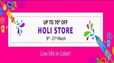 Amazon Holi Offers
