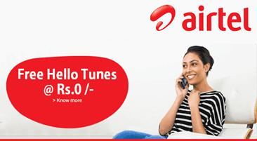 Airtel FREE Caller tune